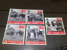 QE11 1994 FINE USED ANNIVERSARY OF DDAY CV £5  SET