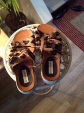 Steven Madden Animal Print Platforn Sandals