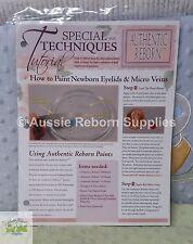 How to Paint Newborn Eyelids & Micro Veins Premium Guide Reborn Baby Tutorial