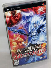 Shin Sangoku Musou Multi Raid GIOCO USATO OTTIMO SONY PSP ED JAP VBC 53782