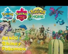 Pokemon home Sword Shield ALL 400+ Shiny,Message before buying +isle of armour