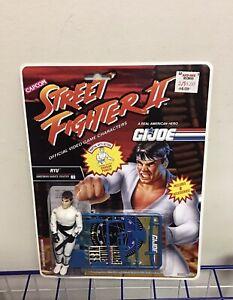 Street Fighter GI Joe - Ryu - Hasbro Figure Rare Vintage