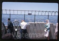 1966 kodachrome Photo slide New York City On top Empire state building binocular