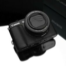 GARIZ Genuine leather case Canon G1X Mark II XS-CHG1X2BK Black