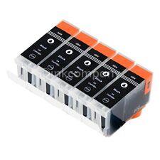 5x Patrone PGI5 bk XL für CANON IX4000R IX5000 MP500 IP5300 MP510 MP520X MP530
