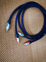 Monster THX1000 THX 1000 Series Audio Amplifier CD Player Bass RCA Cable 3ft