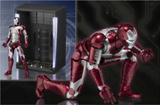 BANDAI TAMASHII S.H.FIGUARTS IRON MAN MARK V 5 + HALL OF ARMOR SET NUOVO