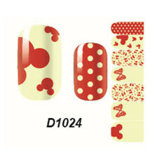 New Girls Adhesive Polish Foils Decal Decor Floral Nail Wraps Lovely Sticker ZB