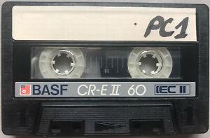 BASF CR-E 60 CrO2 Audio Cassette tape