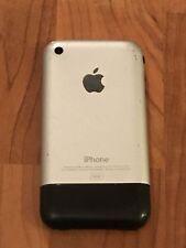 Apple iphone 2G  V1 edge première génération 1 St 8go  MA712LL Semi Hs à réparer