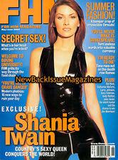 FHM 6/00,Shania Twain,Kid Rock,June 2000,NEW