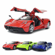 1 Pc Pagani Zonda 1:32 Alloy Diecast Blue Sports Car Model Toy Sound & Light