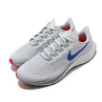 Nike Air Zoom Pegasus 37 Pure Platinum Blue Men Running Shoes Sneaker BQ9646-006