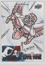 2016 Upper Deck Captain America: Civil War Sketch Cards #ROIB Rogelio Ibanez s7f