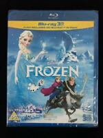 Frozen Blu-Ray [3D + 2D Region Free] Disney Animated Movie NEW *