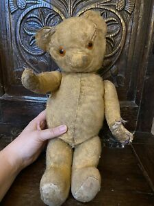 Antique Teddy Bear. Much Loved! 16 Inches