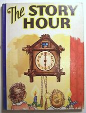 THE STORY HOUR 1941 HC ILLUS Short Stories and Poems for Children - E1