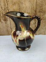 Vintage West German Bay Keramik Pitcher Vase 286-17 Original Sticker