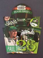 PAUL TRACY SIGNED 8X10 PHOTO AUTO AUTOGRAPHED