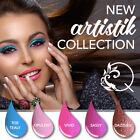 QUTIQUE Gel Nail Polish Colour Pack/Kit/Set -ARTISTIK COLLECTION + Accessories