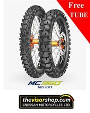 110/100-18 Metzeler MC360 (MID SOFT)  Motocross Motorcycle Tyre - inc FREE TUBE