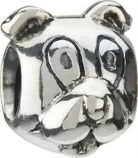 Authentic Chamilia Sterling .925 Silver Bead Charm GB-8 Dog-FREE SHIPPING