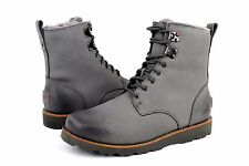 UGG HANNEN TL METAL LEATHER WINTER WATER PROOF BOOTS MENS SIZE 8 US NO BOX LID