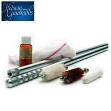 Helston Gunsmiths English Shotgun Cleaning Kit 28g Alloy Rod Brush Mop Jag