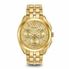 Bulova Men's Curv Collection Chronograph Quartz Bracelet 45mm Watch 97A125