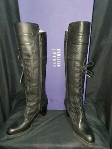 Stuart Weitzman Soildier Nero Sport Calf Boots