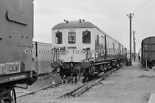 35mm Railway Negative: Departmental EMU 002 at Eastleigh 26/08/1989       29/251