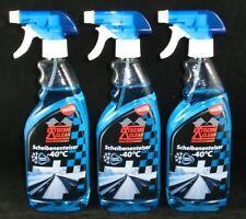 3,63€/L. 3 x 500 ml Scheiben Enteiser Spray Nano 1,5l Enteiserspray Sprühflasche