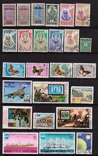 Haute Volta - Colonie française et république - 1920 / 1980 - Plus de 80 timbres