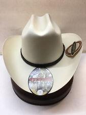 """Stetson 1000X Evilla de Oro Straw Hat 4"""" Brim Profile 31"""