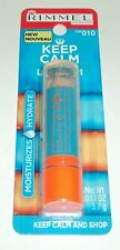 RIMMEL LONDON Keep Calm And Lip Balm CLEAR 010 Factory Sealed Moisturize Hydrate