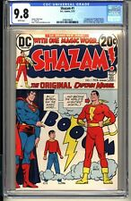 SHAZAM #1  CGC 9.8 WP NM/MT  DC Comics 2/73 1st Captain Marvel since Golden Age