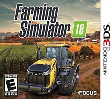 Farming Simulator 18 3DS New Nintendo 3DS, Nintendo 3DS