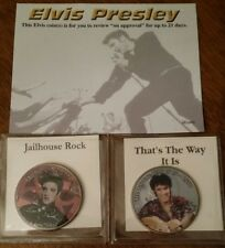 Elvis Presley colorized images on Kennedy half-dollar coins very collectable