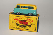 MATCHBOX #70A FORD THAMES ESTATE CAR, SPW, OUTSTANDING, BOXED TYPE B