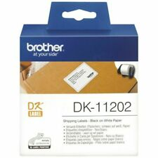 Brother DK-11202 Black on White Label Roll
