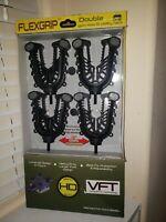 ATV TEK Flexgrip Double Gun Bow & Utility Rack Universal Fit New