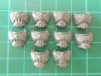 Warhammer 40K - 10 Space Marine Torso fronts - 40k bits