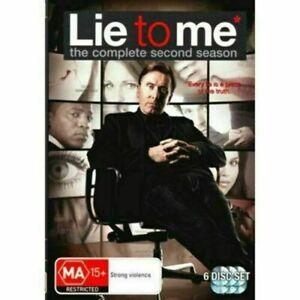 Lie to Me: Season 2 (DVD, 6 Discs) NEW