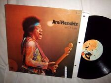 JIMI HENDRIX-ISLE OF WIGHT-BARCLAY 80462 FRANCE NO BARCODES VG/VG+ LP