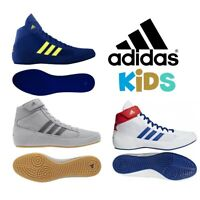 Adidas Wrestling Shoes HAVOC Kids Wrestling Boxing Martial Arts Boots