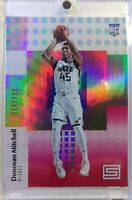 2017-18 Panini Status Red Donovan Mitchell Rookie RC #122, #'d /299