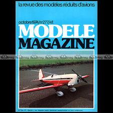 MODELE MAGAZINE N°277 ★ PLAN RODEO ★ CH DELIRIUM RYAN ST SPECIAL VDP NANCY 1974