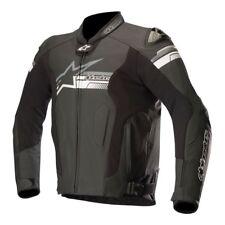 Alpinestars Fuji el flujo de aire chaqueta de cuero negro 52 Euro