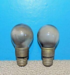 2 GE General Electric 277465 Tungar Bulbs Rectifier Tubes Free Shipping