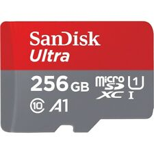 SanDisk Ultra 256GB microSDXC Uhs-i Card With Adapter